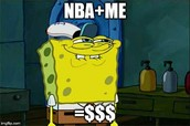 The feeling of being in the NBA