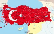 Country of Turkey