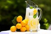 La limonada es moy buen.