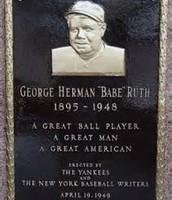 George Herman Ruth Jr.