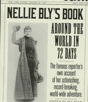 A NEWS ARTICAL FOR HER BOOK 72 DAYS AROUND THE WORLD