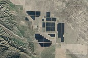 Image of the worlds largest PV power plants.