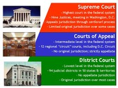 Different Levels of The Federal Court System