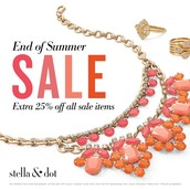 End of Summer Sale through 9/3