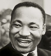Martin Luther King, Jr. Day on January 18th.