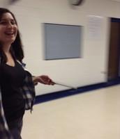 Christina finds a laugh!