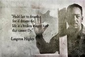Famouse quote by Langston Hughes