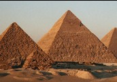 These are some ancient pyramids