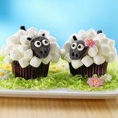 our shop sells decorated cupcakes of your precise order!