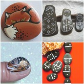 WE HAVE CUTE ANIMAL ROCKS AND MORE!
