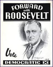 Roosevelt's president election during the Great Depression