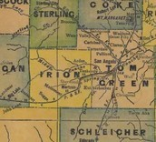 Irion County Map