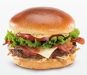 Bacon Clubhouse Burger
