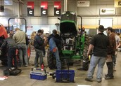 The Weatherford FFA Tractor Technician Team