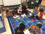 Seuss Reading Buddies (3rd Grade and Pre-K)