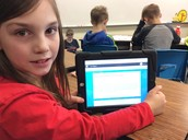 Blogging is a fun way to practice writing.