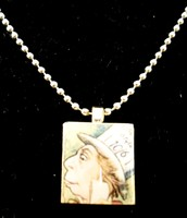 The Mad Hatter Scrabble Tile Necklace