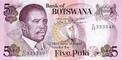 Botswana curentcy