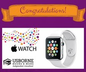 You earned a Free Apple Watch or Samsung Gear S2!