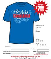 Rachel's Challenge Shirt Order Form