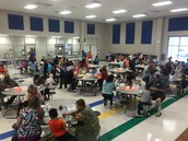 We had a full cafeteria!