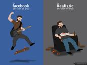 Online Persona vs. Offline Persona