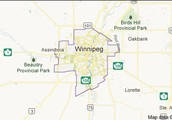 Winnipeg Canada Map
