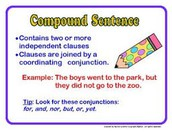 Definition of a Compound Sentence