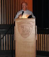 Dr. Eric Warren speaks at MAHS