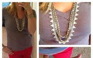 The Sutton Necklace- you can wear it 5 ways (dressed up or down)!