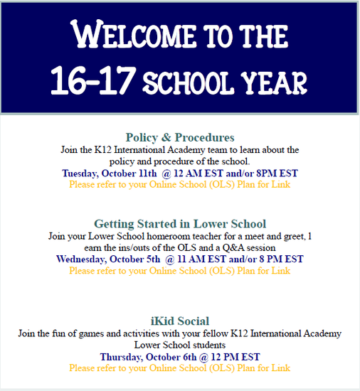 Lower School News | Smore Newsletters for Education