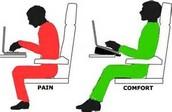 Comfort vs. Pain