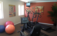 24-hour fitness center!