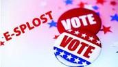La decisión para E-SPLOST será en las votaciones del 3 de Noviembre!
