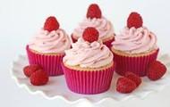 Raspberries Cupcakes