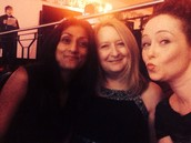 Rupinder, Tracy and Lesley at the Chamber of Commerce Do