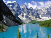 En Canadá-Parque Nacional Banff