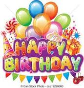 Monthly Birthday Celebrations