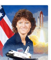 Sally ride first female in space