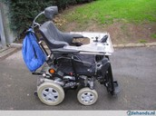 Elektrische rolstoel voor buiten