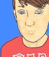 106. Contour Line Portrait