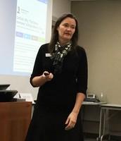 Shelley Seslar shares ACEs information at SAC Meeting