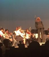 Strings Performance at Bryan Adams