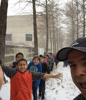 Students and Teachers Enjoy Winter Weather