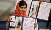 Malala won noble peace prize: December 10, 2014