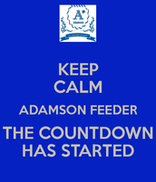 Keep the momentum and sense of urgency going on a daily basis!  ALL TOGETHER ADAMSON!