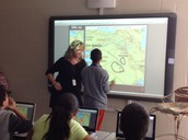 Promethean Combined with Interactive Atlas