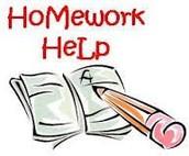 Homework Help & Tips