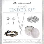 So many items under $50!