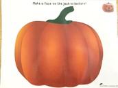 Make a face on your pumpkin